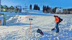 Skitoury na Pilsku - start spod BABY