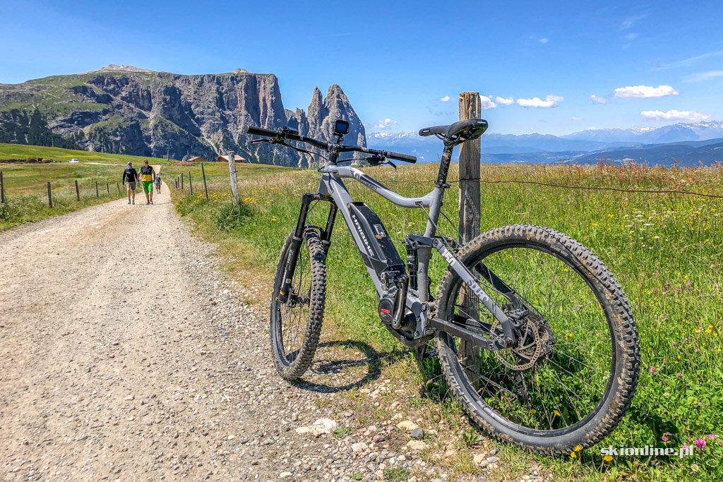 Rowerem przez Dolomity - Seiser Alm