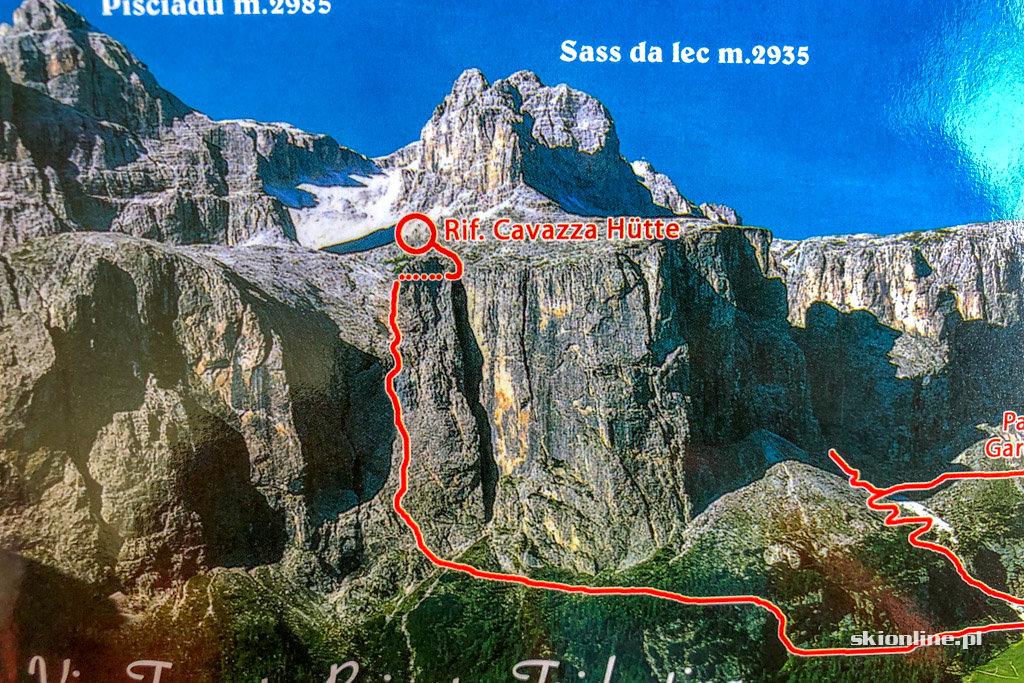 Via ferrata Tridentina - Sellaronda Dolomity