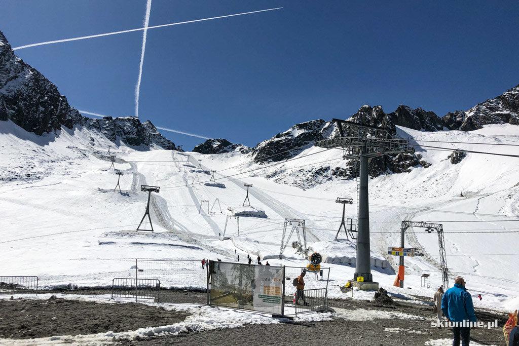 Lodowiec Stubai - otwarcie sezonu wrzesień 2019