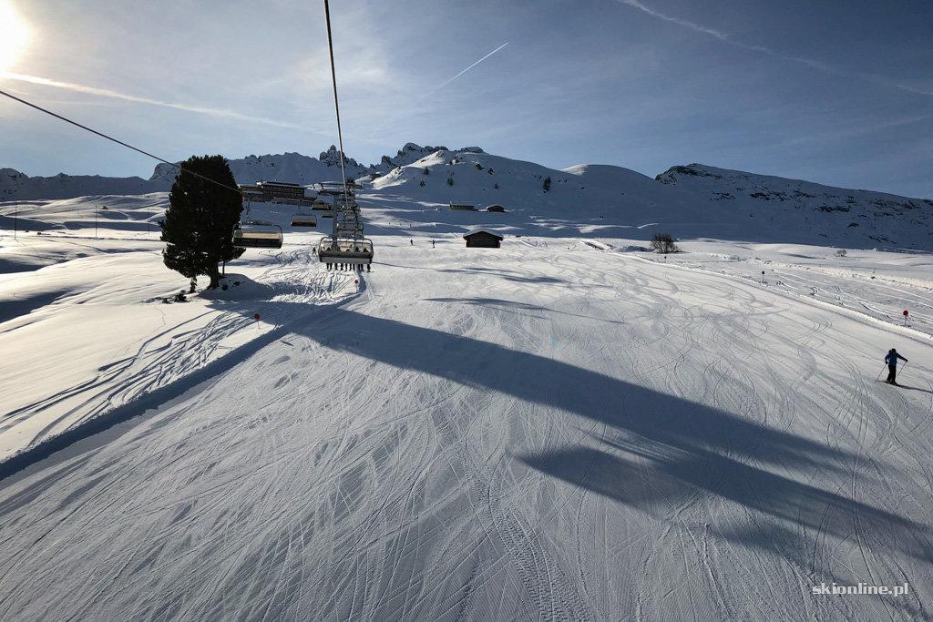 Seiser Alm / Alpe di Siusi w Południowym Tyrol - grudzień 2019