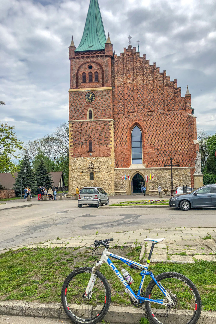 Wiślana Trasa Rowerowa, Oświęcim - Zator
