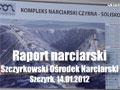 Szczyrk - raport narciarski 14.01.2012